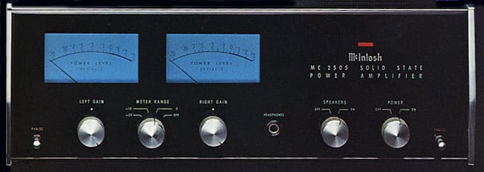 McIntosh MC 2505 - Premier amplificateur McIntosh à transistor